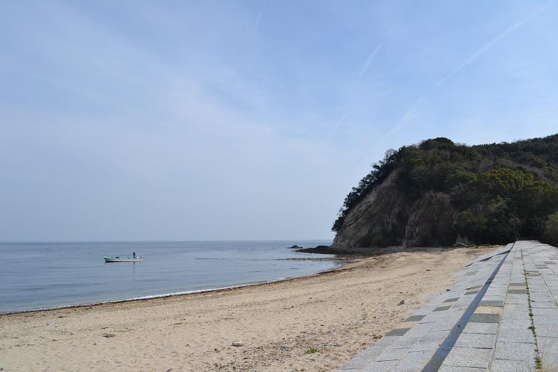 田ノ浦野営場の海