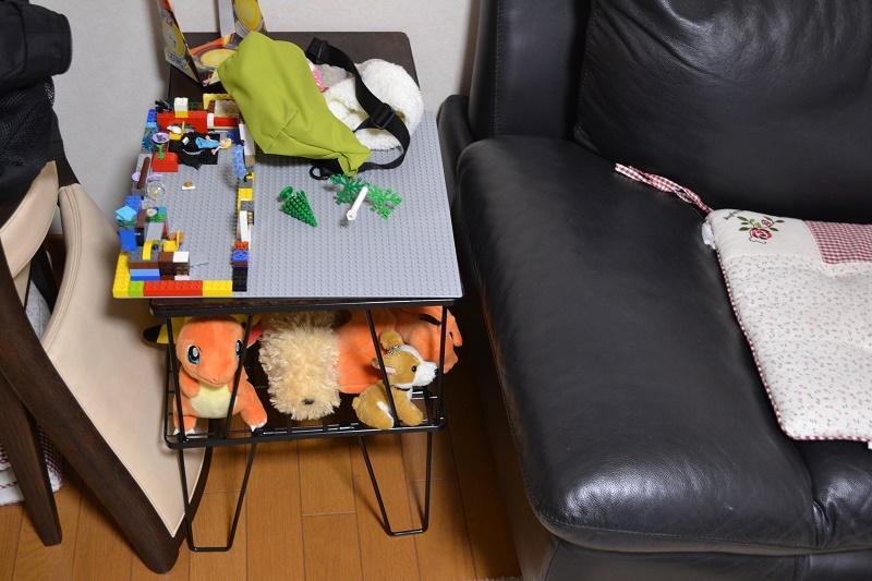 おもちゃも置けるフィールドラック