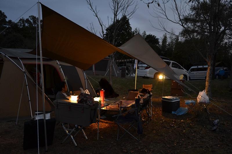 吉井竜天オートキャンプ場のサイト