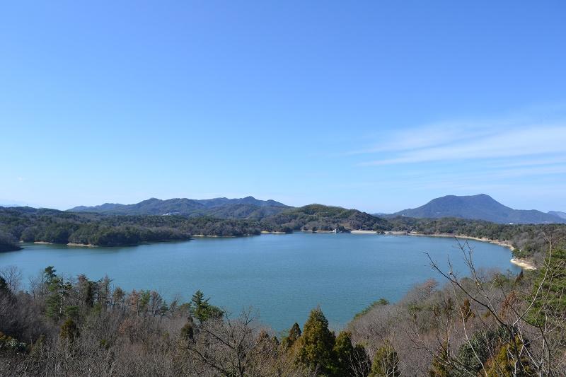 絶景の満濃池