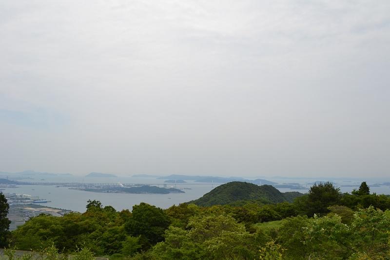休暇村讃岐五色台本館からの景色