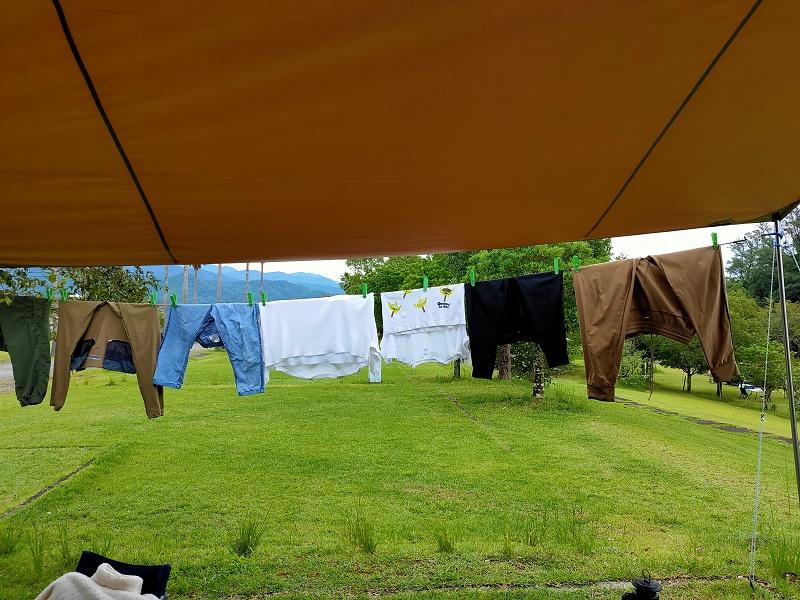 連泊の時は洗濯が便利