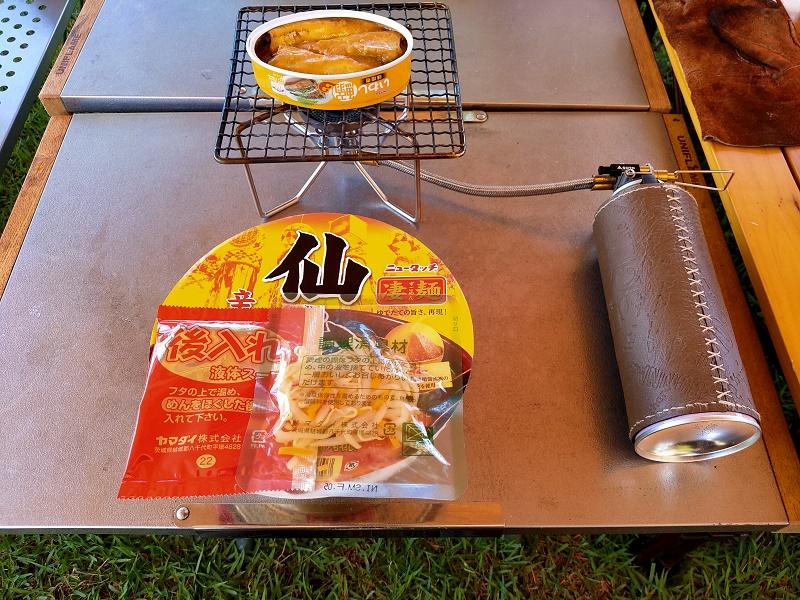 連泊キャンプの際は缶詰を活用すると便利