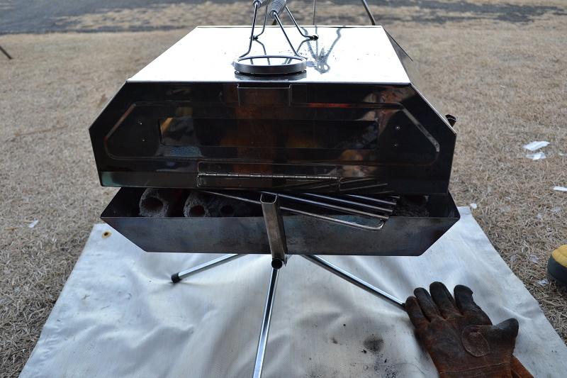 オノエピザオーブンでパンを焼く