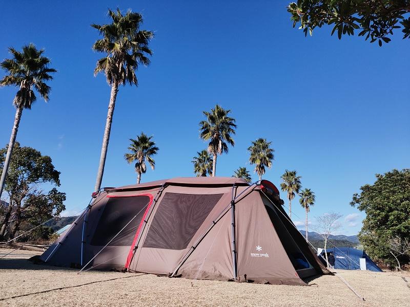 2021年初キャンプは晴天スタート