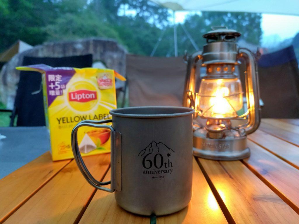 今朝はコーヒーでは無く紅茶で